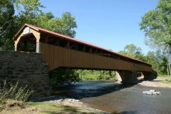 The Academia Pomeroy Covered Bridge