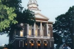 Juniata County Courthouse at Evening