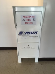 Drug Drop Box Located in the Courthouse Annex Lobby